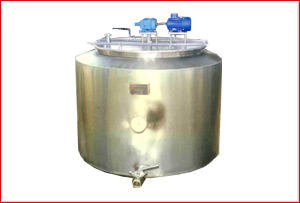 Milk Processing Plants, Equipments and Machinery, Ice Cream Mixing Tank