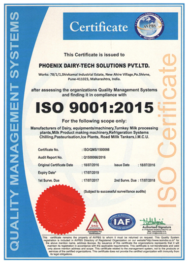 An ISO 9001:2015 Certified Company